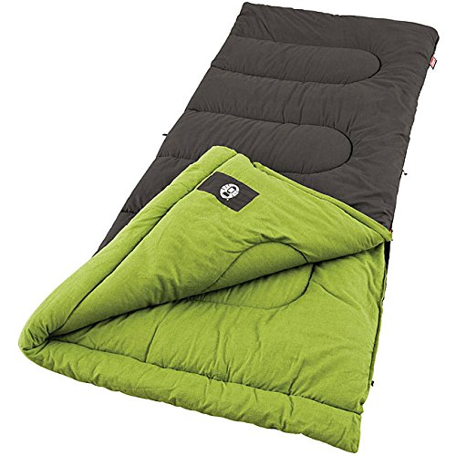 An image of Coleman Duck Harbor 30 Degree Cotton Flannel Sleeping Bag