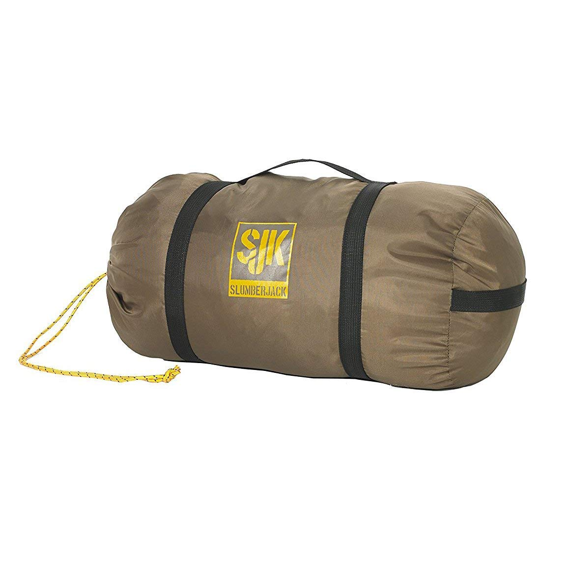 An image of Slumberjack Borderland 20 Men's 20 Degree Sleeping Bag