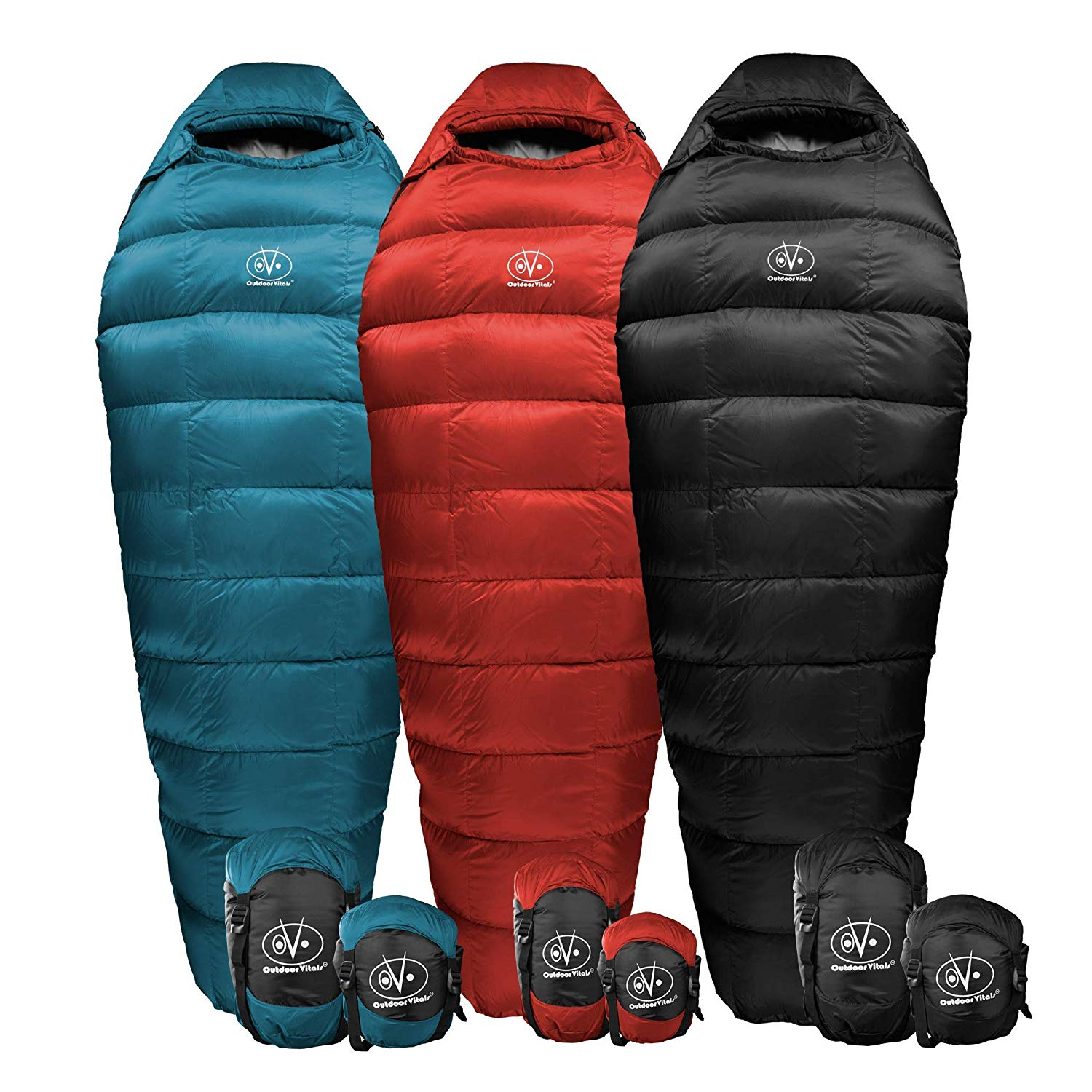 An image of Outdoor Vitals Summit Men's Down Sleeping Bag