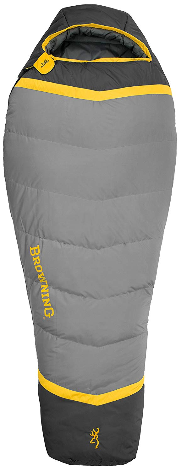 An image of Browning Vortex 4813036 20 Degree Polyester Sleeping Bag