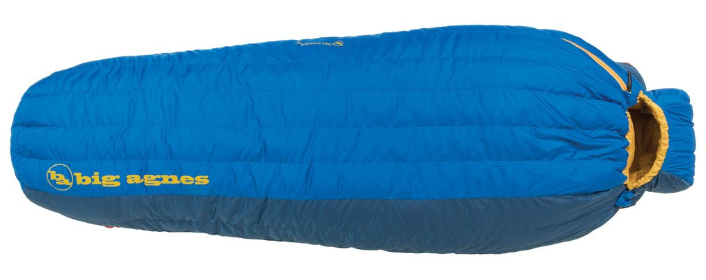An image of Big Agnes Lost Ranger Blue Single 6 Ft. 6 in. Mummy Sleeping Bag | Expert Camper