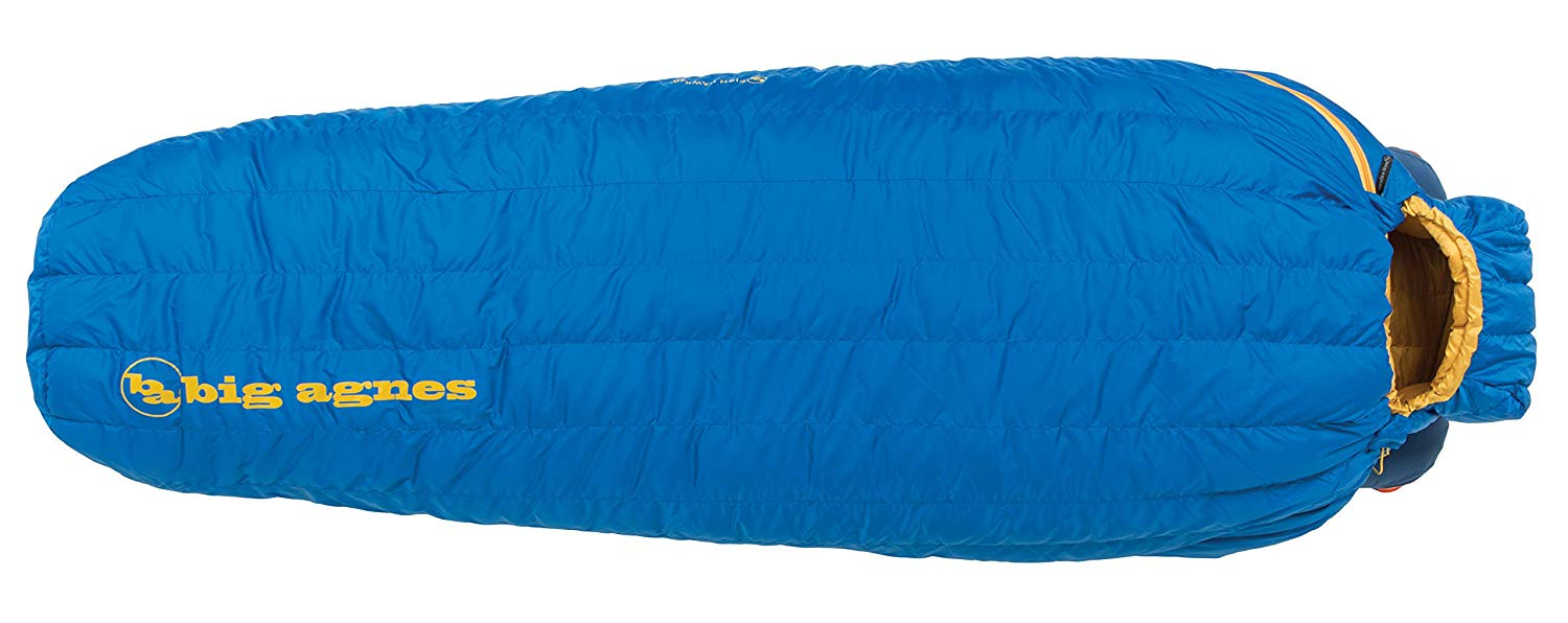 An image related to Big Agnes Fish Hawk Men's Sleeping Bag