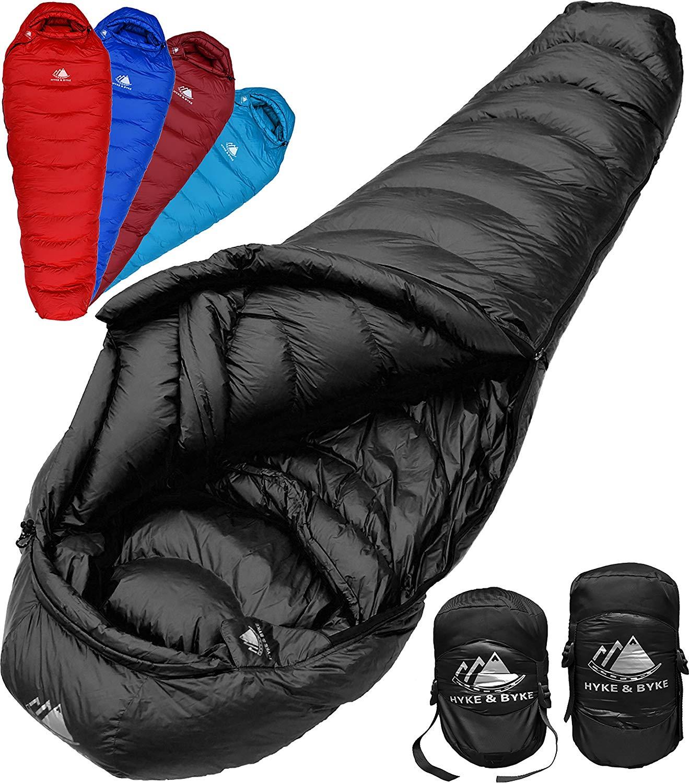 An image related to Hyke & Byke Quandary Men's Nylon Ripstop Sleeping Bag