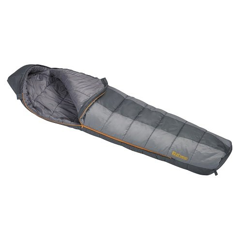 An image of Slumberjack Boundary 51725815RR Men's 20 Degree Polyester Taffeta Sleeping Bag