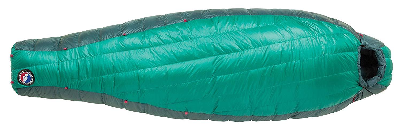 An image of Big Agnes Sidney SL 25 (650 DownTek) Women's 30 Degree Nylon Taffeta Sleeping Bag | Expert Camper