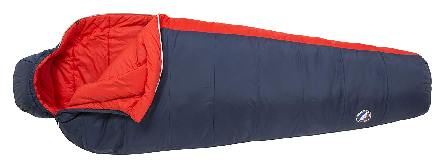 An image related to Big Agnes Husted Men's 20 Degree Sleeping Bag