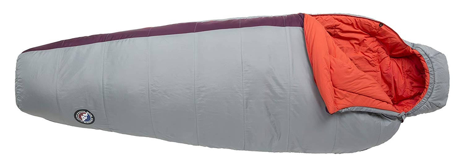 An image of Big Agnes Women's Nylon Taffeta Sleeping Bag