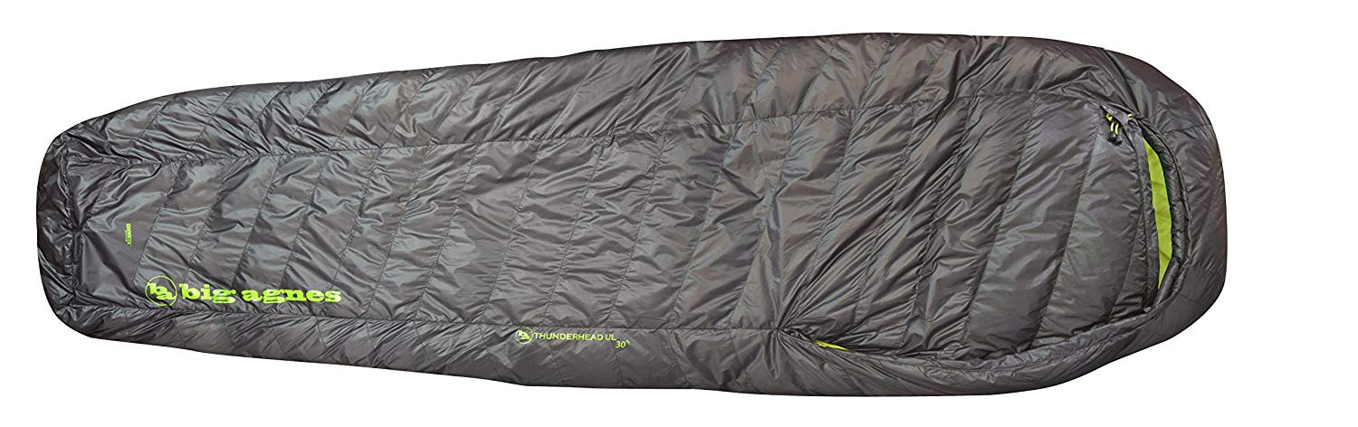 An image of Big Agnes Thunderhead SL 30 Nylon Taffeta Sleeping Bag | Expert Camper