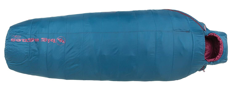 An image of Big Agnes Brooklyn 0 Women's Nylon Taffeta Sleeping Bag | Expert Camper