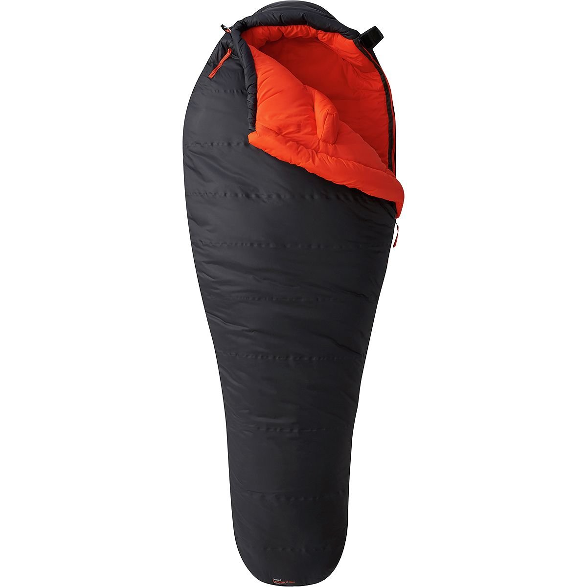 An image of Mountain Hardwear Lamina Z Blaze Polyester Sleeping Bag