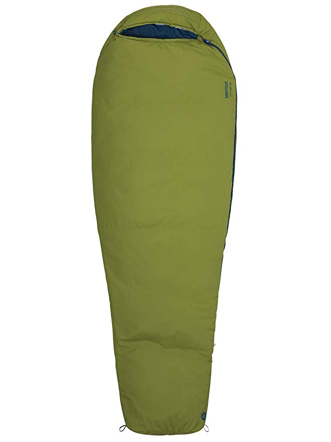 An image of Marmot Voyager 900716-4440 Men's 50 Degree Sleeping Bag