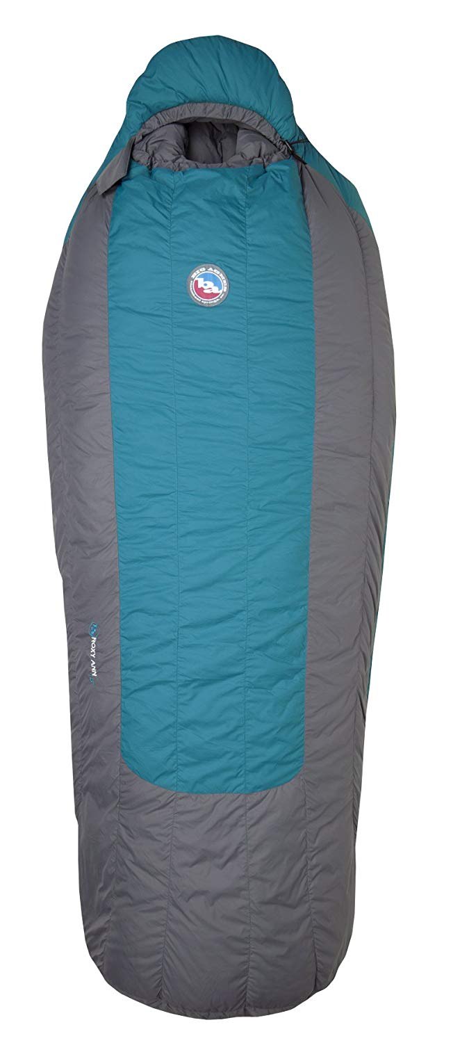 An image of Big Agnes Roxy Ann BWRA-Roxy Women's 10 Degree Nylon Taffeta Sleeping Bag