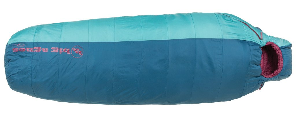 An image related to Big Agnes Lulu 15 Women's Nylon Taffeta Sleeping Bag