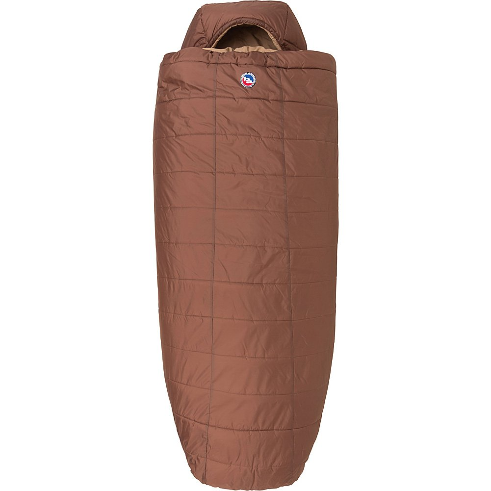 An image of Big Agnes Whiskey Park Men's 0 Degree Nylon Sleeping Bag
