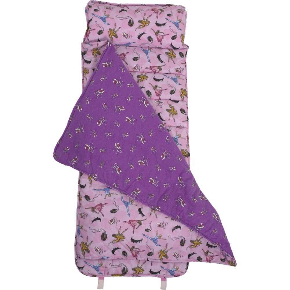 An image of Wildkin Ballerina Sleep Mat Kids Sleeping Bag