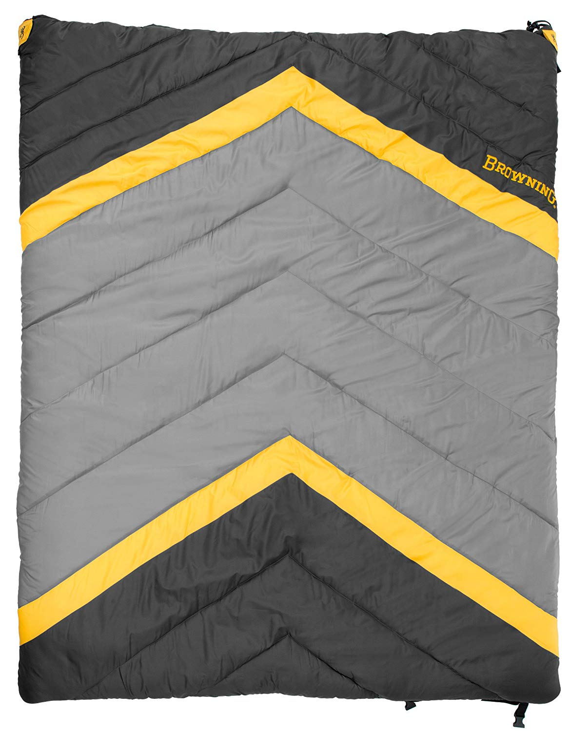 An image of Browning Side-By-Side 4859936 Polyester Sleeping Bag