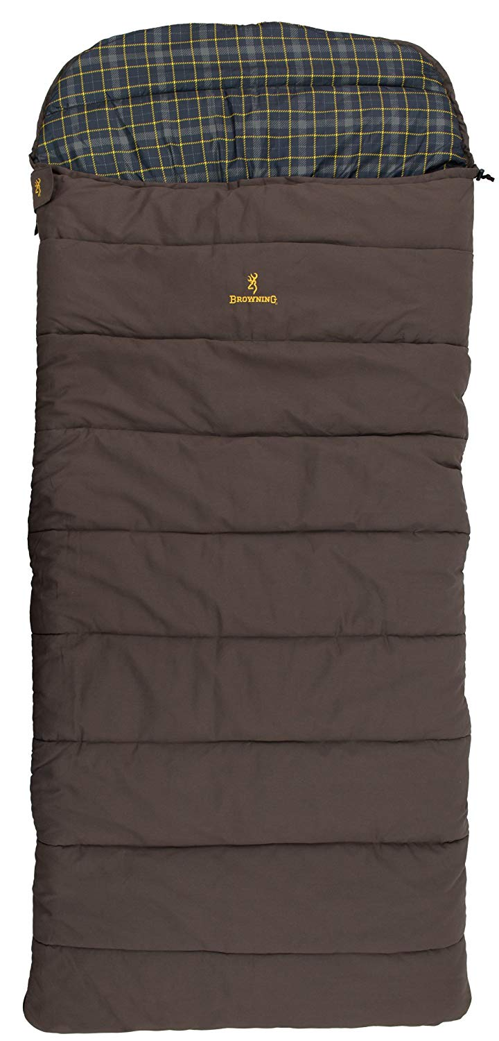 An image of Browning Klondike 4893514 Cotton Flannel Sleeping Bag