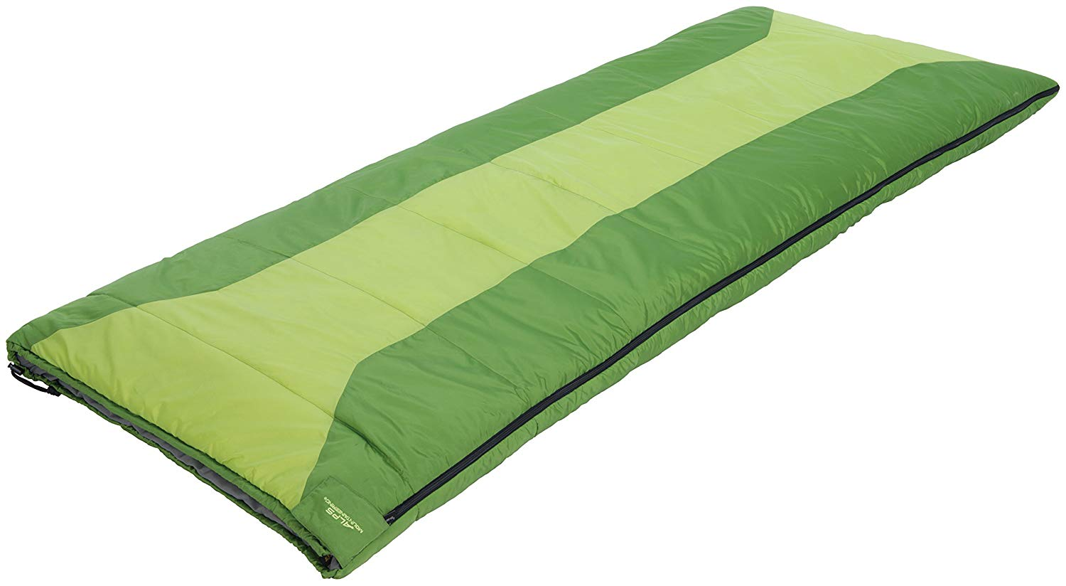 An image of Alps Mountaineering Spring Lake 4902122 40 Degree Microfiber Sleeping Bag | Expert Camper