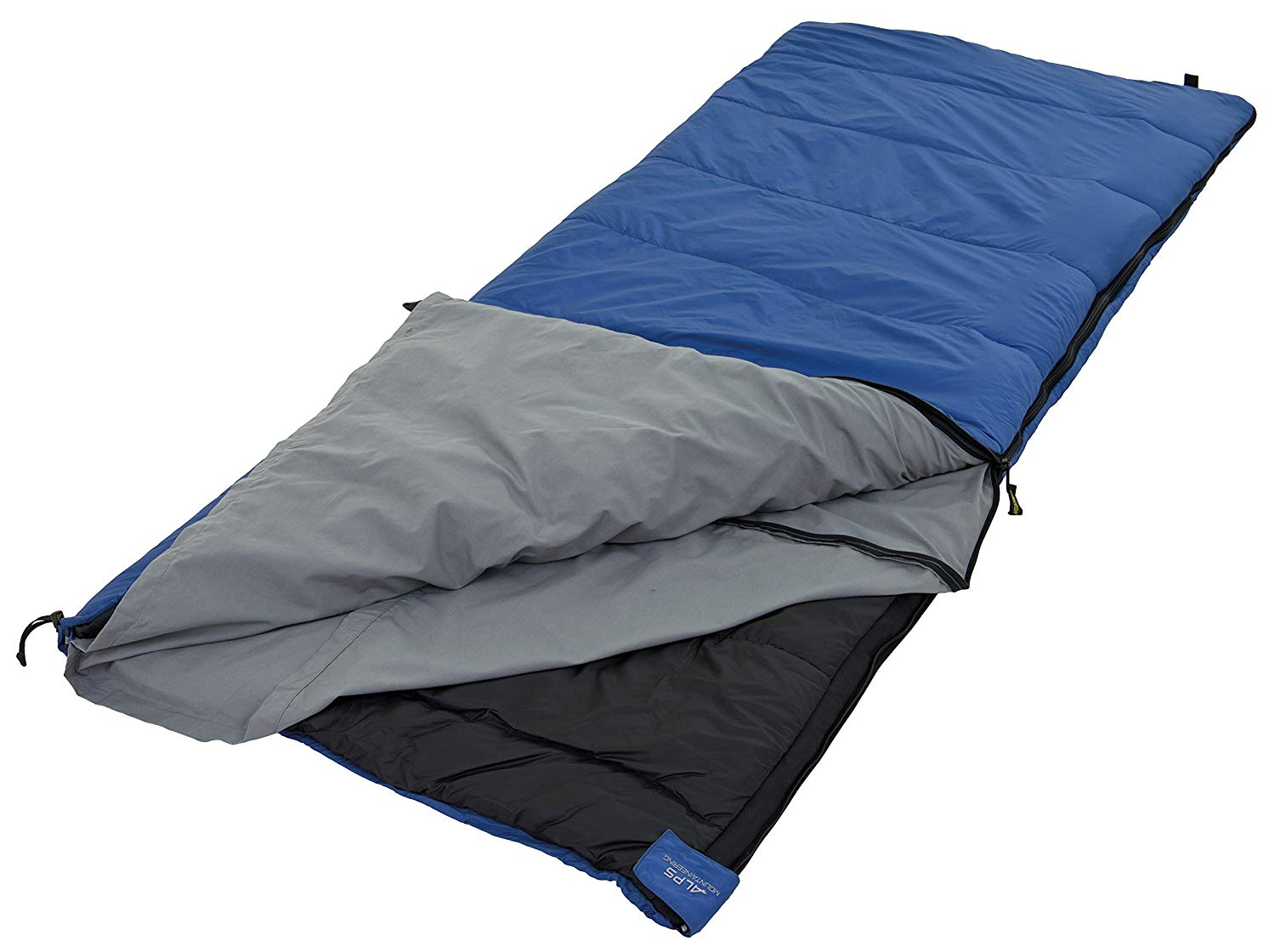 An image of Alps Mountaineering Crater Lake Outfitter 494375ZIP 20 Degree Poly Cotton Sleeping Bag