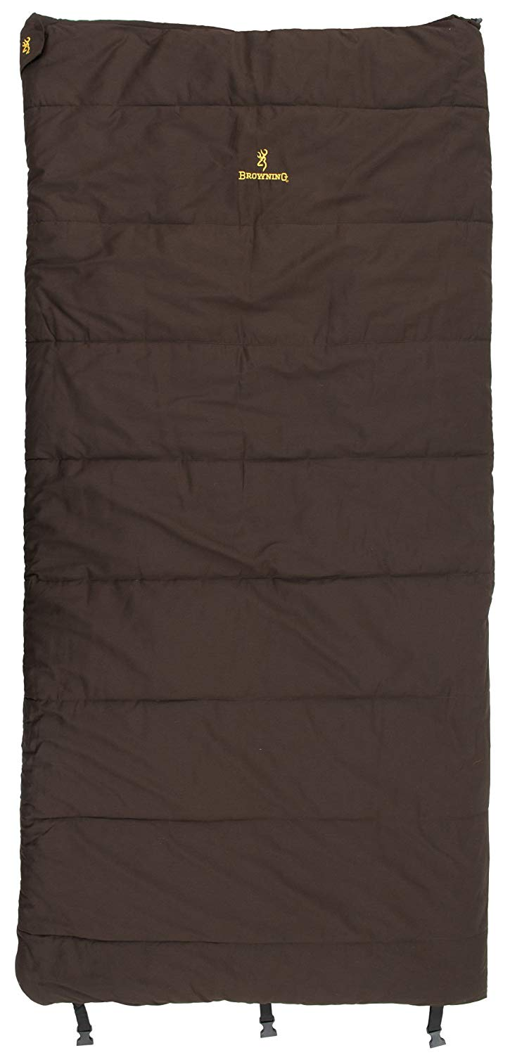 An image related to Browning Yukon 4853914 Cotton Flannel Sleeping Bag