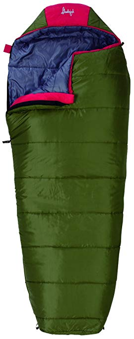 An image of Slumberjack Big Scout 52728511SR Kids 30 Degree Polyester Sleeping Bag