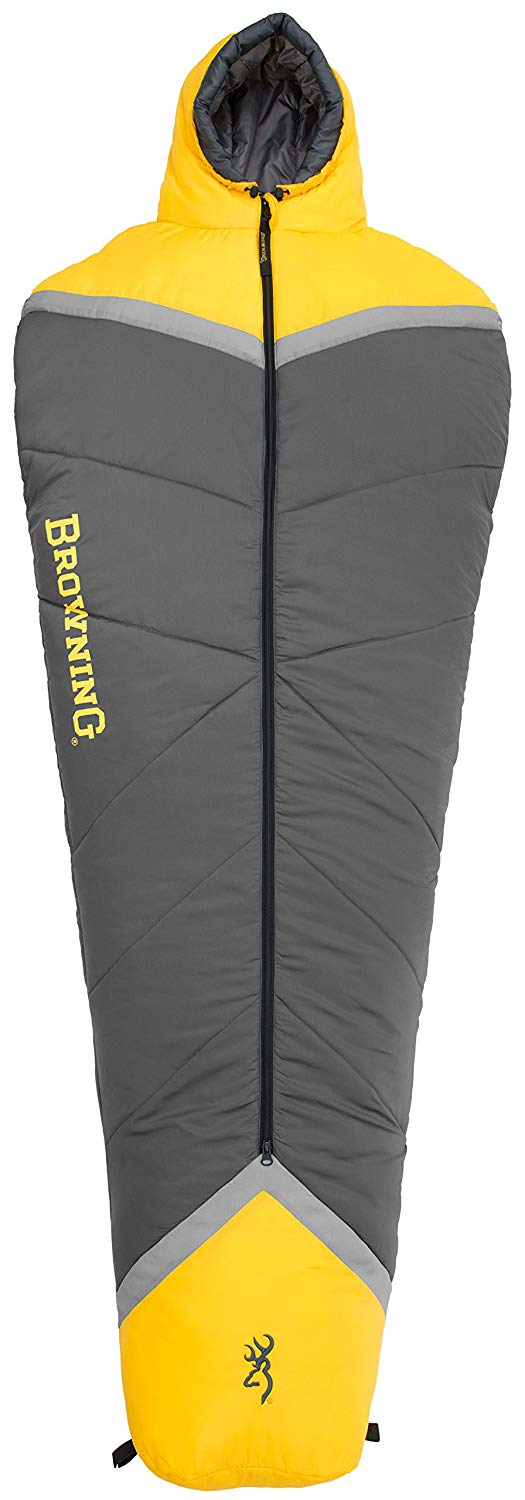 An image of Browning Refuge 4820036 10 Degree Polyester Sleeping Bag