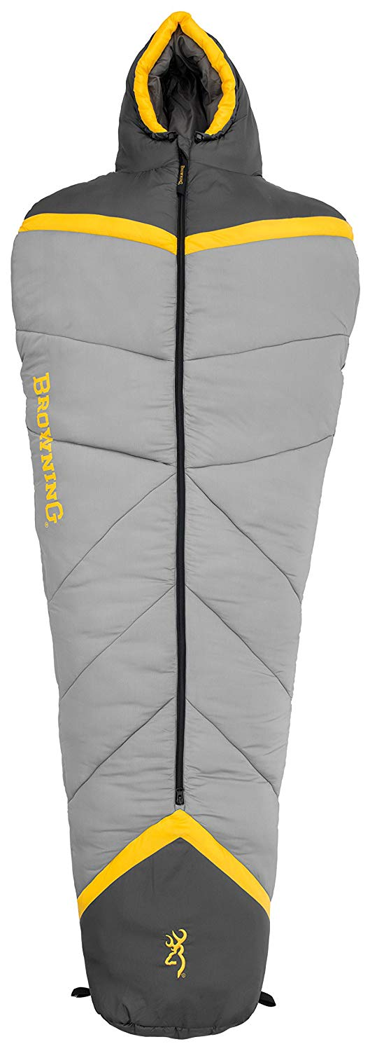 An image of Browning Refuge 4870036 Men's Sub Zero Degree Polyester Sleeping Bag