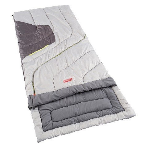 An image of Coleman Adjustable Comfort 30 Degree Polyester Sleeping Bag