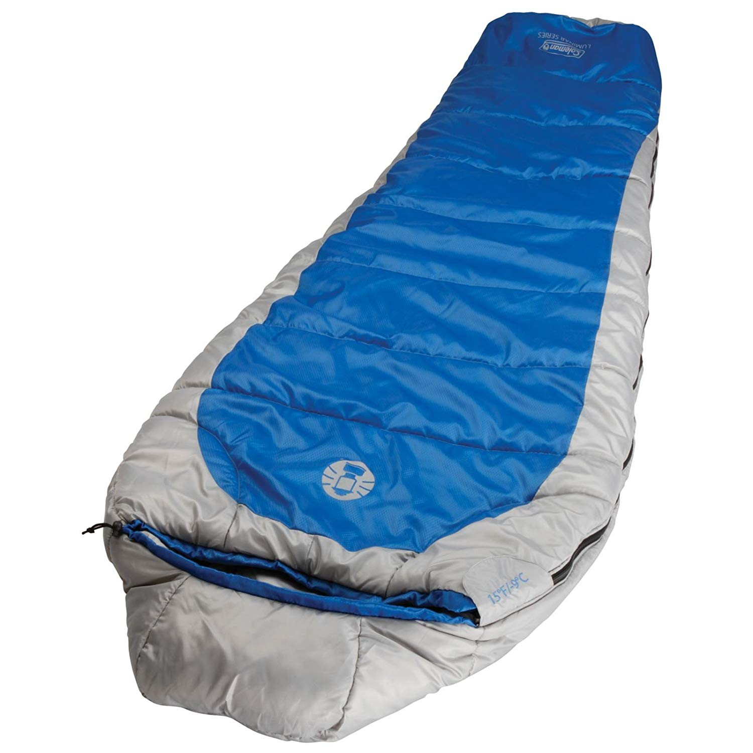 An image related to Coleman Silverton 2000018103-Parent Polyester Sleeping Bag