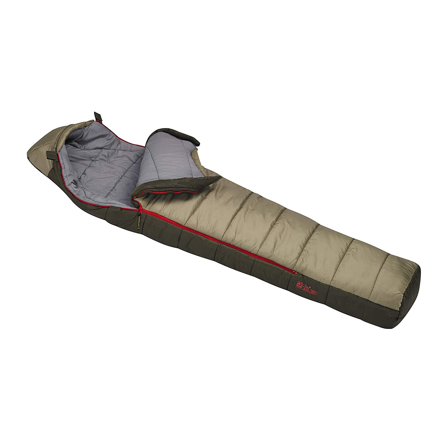 An image of Slumberjack Ronin 51722215DZ Men's 20 Degree Polyester Sleeping Bag