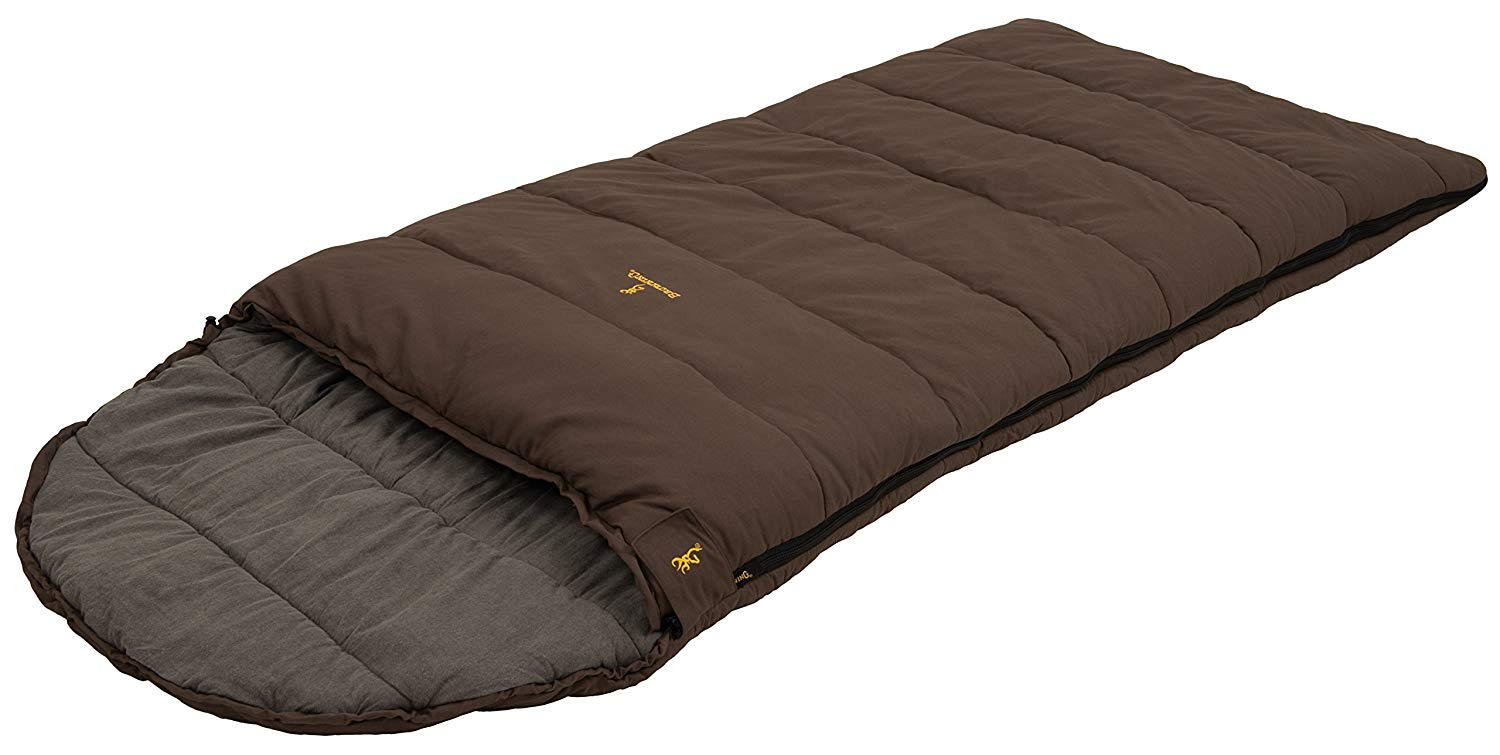 An image of Browning Klondike 4893977 Sub Zero Degree Flannel Sleeping Bag | Expert Camper
