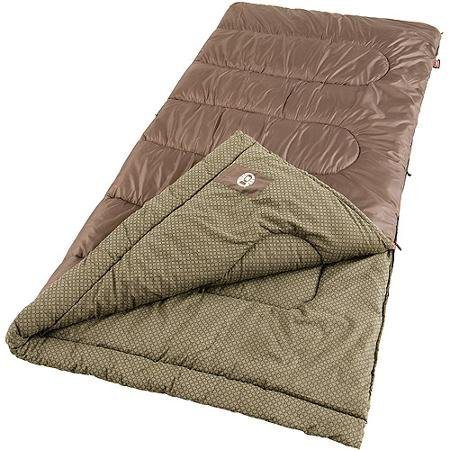 An image of Coleman Oak Point Men's 30 Degree Flannel Sleeping Bag