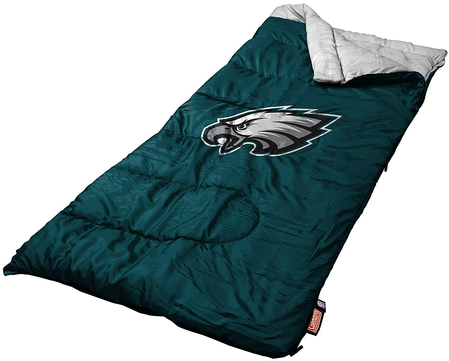 An image of Coleman NFL Youth 8901080111 Teen 50 Degree Sleeping Bag