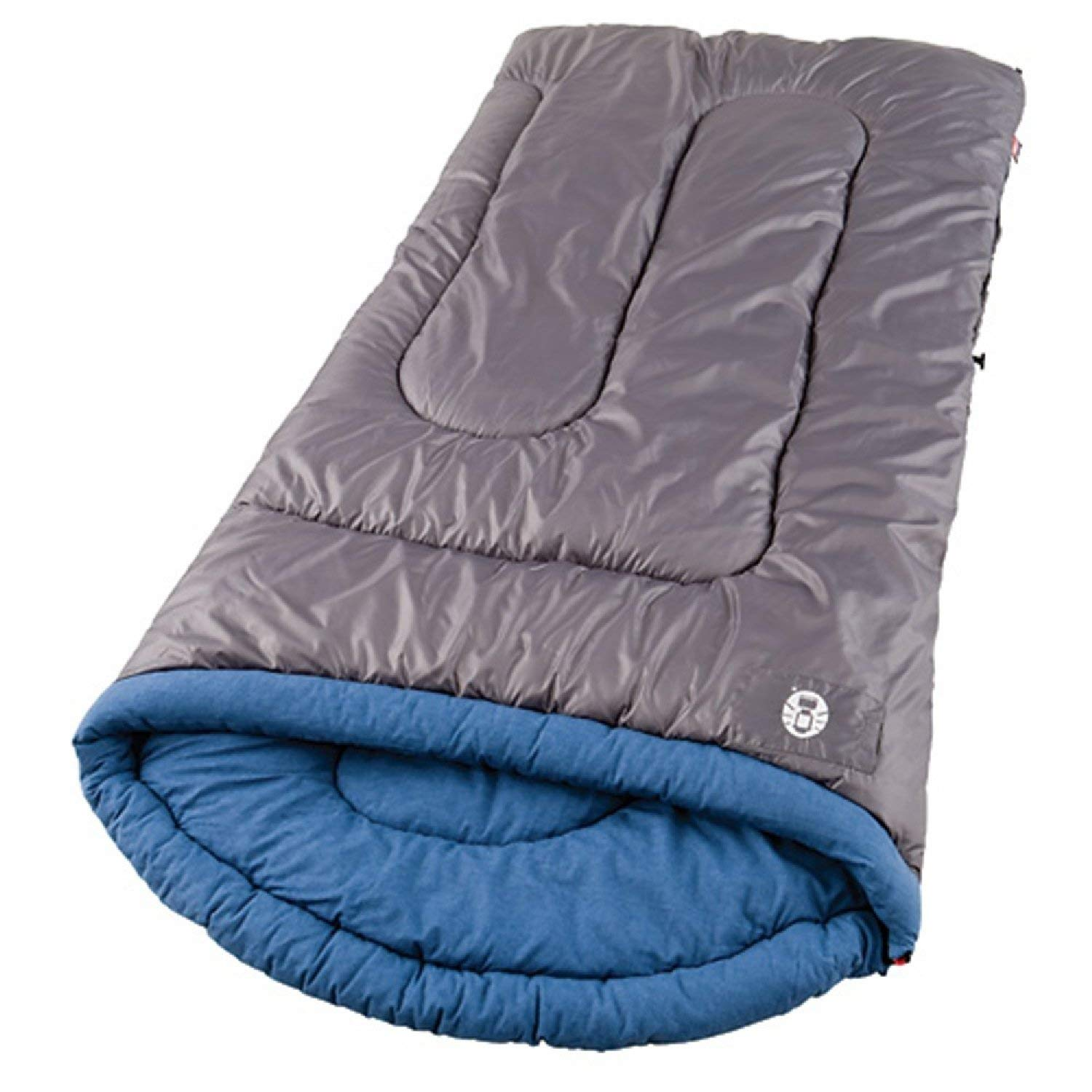 An image of Coleman White Water SS-SMS-765728 Men's 30 Degree Polyester Sleeping Bag