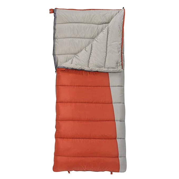 An image of Slumberjack Forest Men's Polyester Taffeta Sleeping Bag