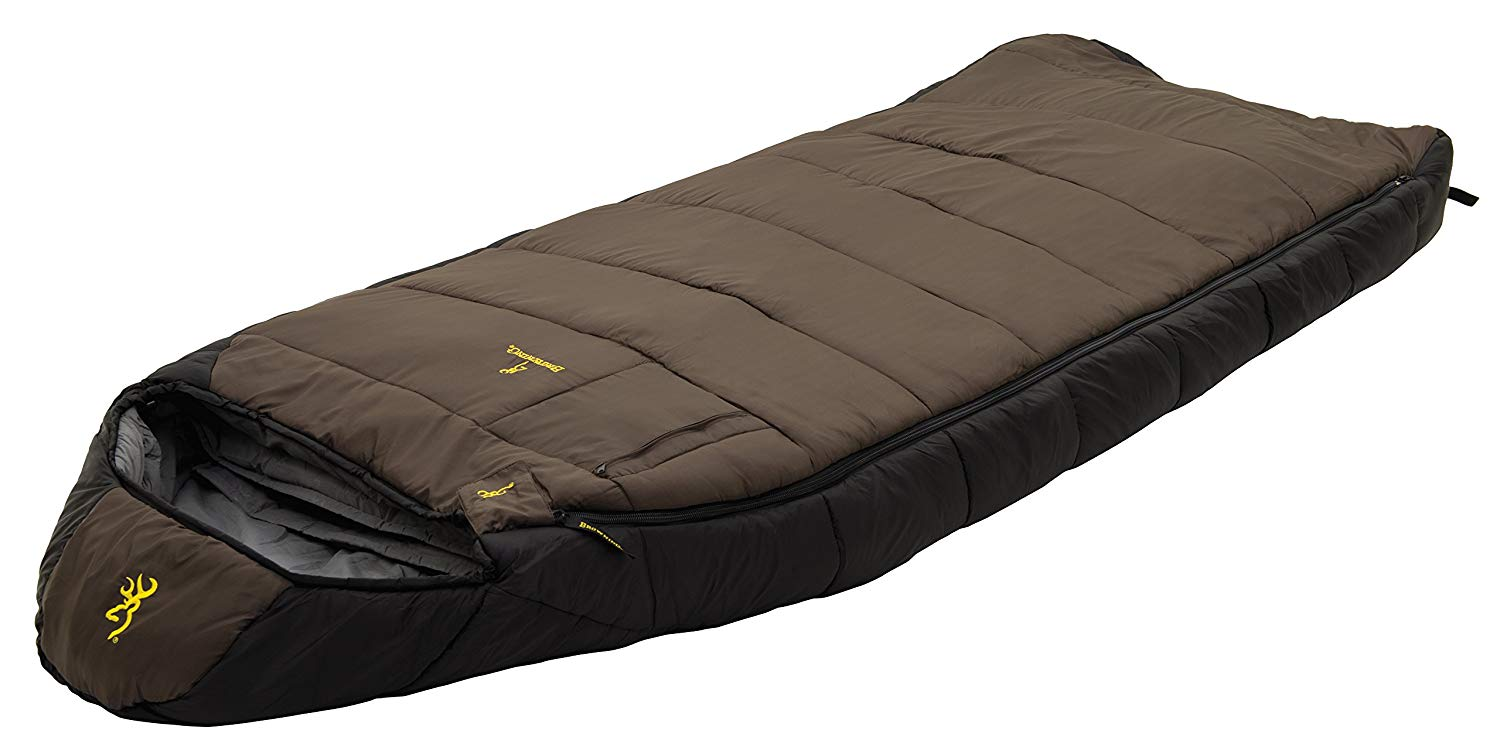 An image of Browning McKinley 4853417 0 Degree Polyester Sleeping Bag | Expert Camper