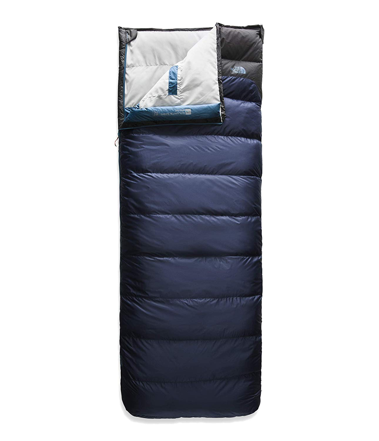 An image related to Dolomite Polyester Taffeta Sleeping Bag from The North Face
