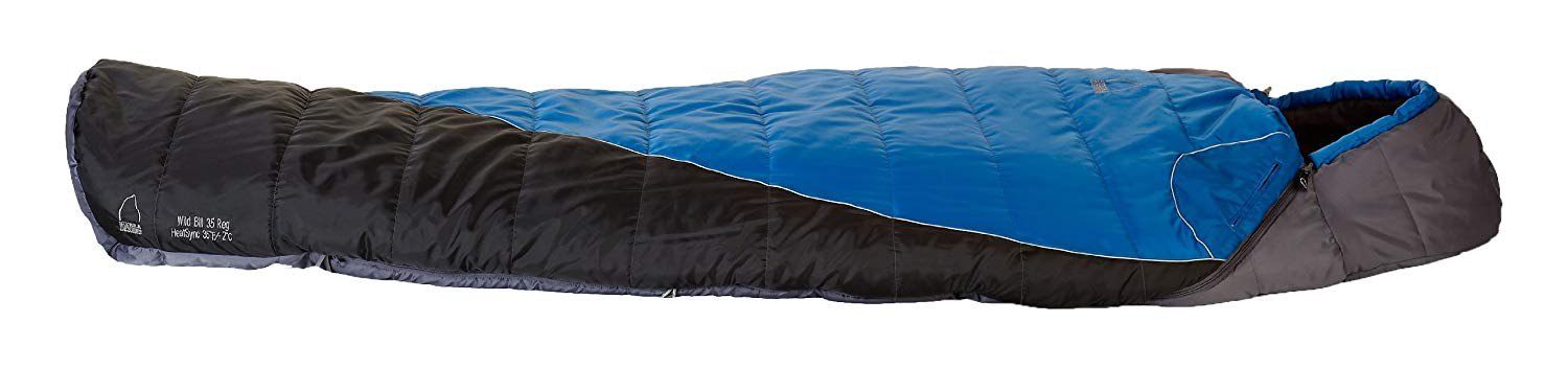 An image of Sierra Design Wild Bill 00596611XL 30 Degree Sleeping Bag | Expert Camper