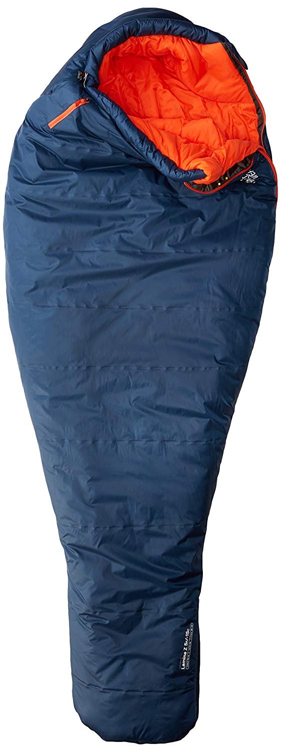 An image of Mountain Hardwear Lamina Z Torch Polyester Sleeping Bag