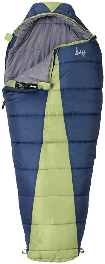 An image of Slumberjack Women's Latitude 51723511RR Women's Polyester Sleeping Bag | Expert Camper