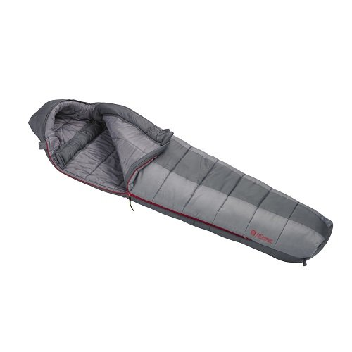 An image of Slumberjack Boundary 51725415LL 20 Degree Polyester Taffeta Sleeping Bag