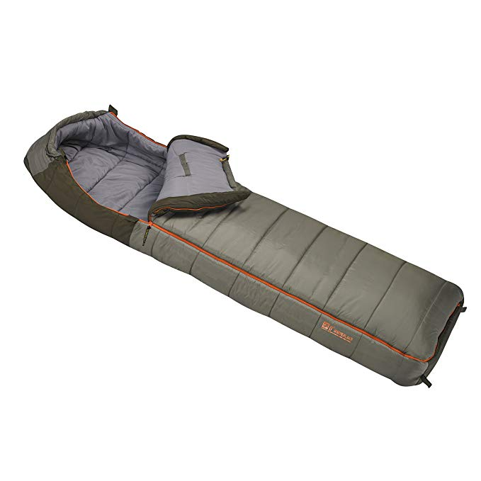 An image of Slumberjack Borderland 51724615DZ Men's 0 Degree Sleeping Bag