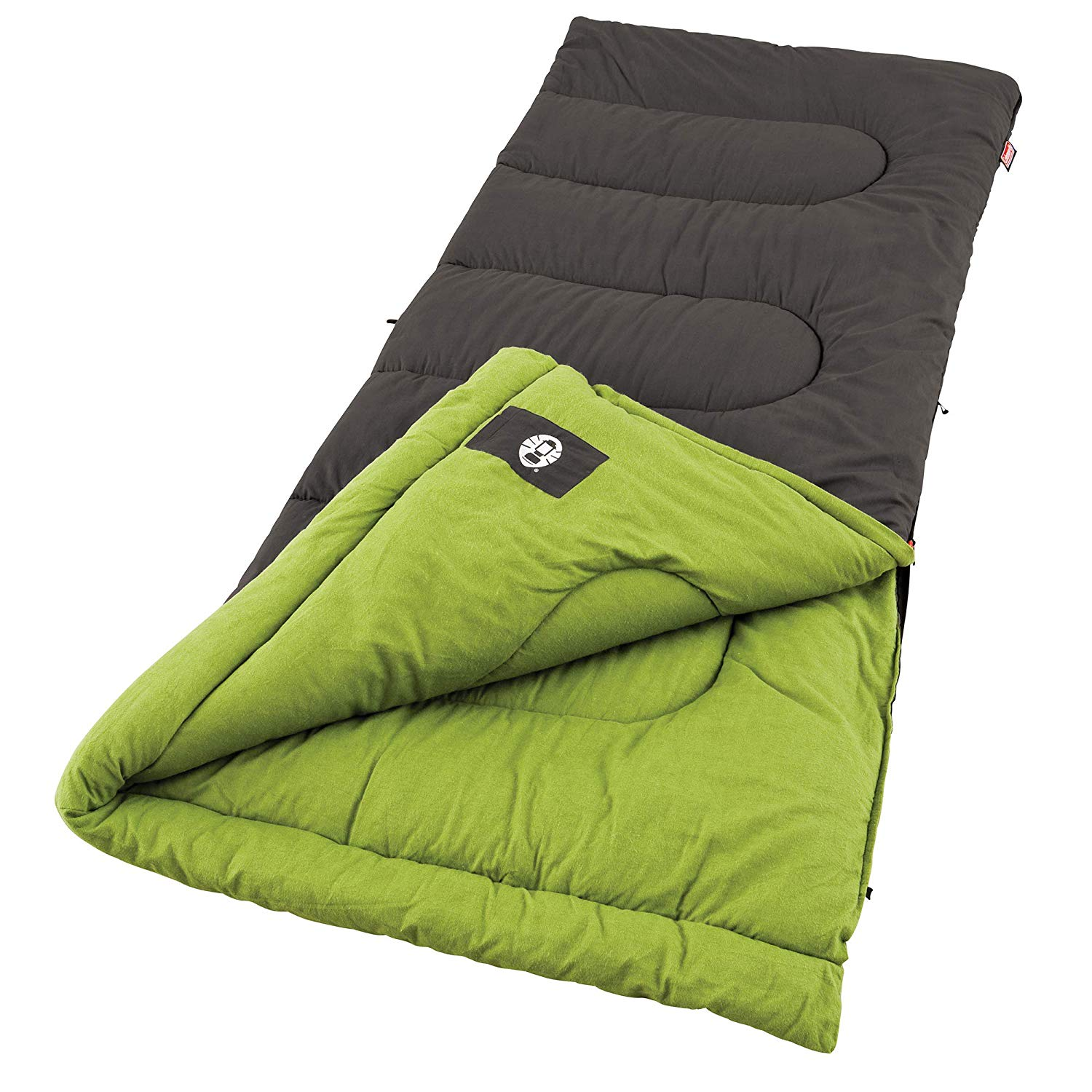 An image of Coleman Duck Harbor 2000004454 Men's Cotton Flannel Sleeping Bag