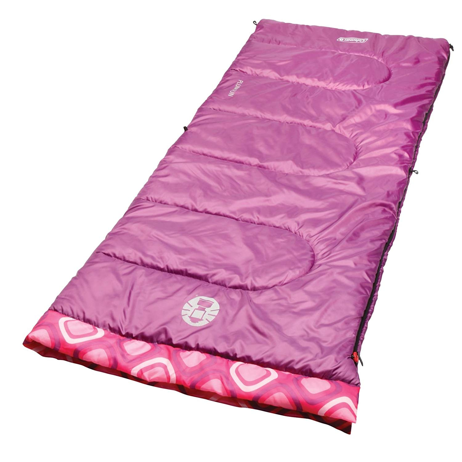 An image of Coleman Plum Fun 2000019645 Kids 40 Degree Sleeping Bag