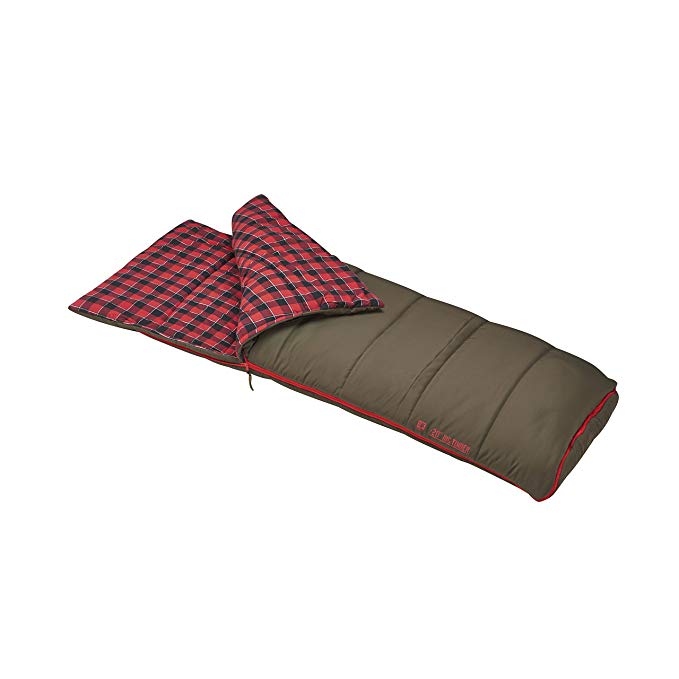 An image of Slumberjack Big Timber Pro Flannel Sleeping Bag | Expert Camper
