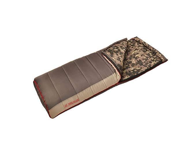 An image of Slumberjack Wheeler Lake Men's Sub Zero Degree Sleeping Bag