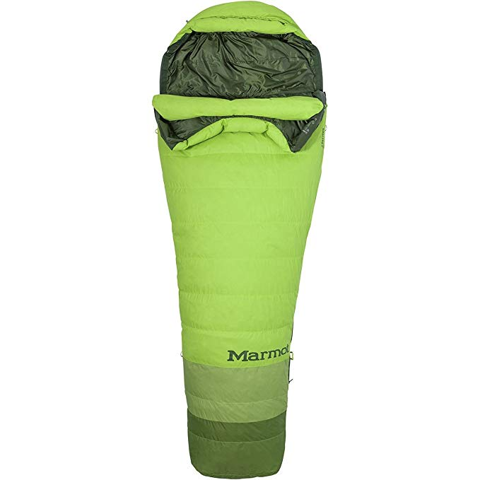 An image of Marmot Never Winter TL 39230-4794-L Sleeping Bag