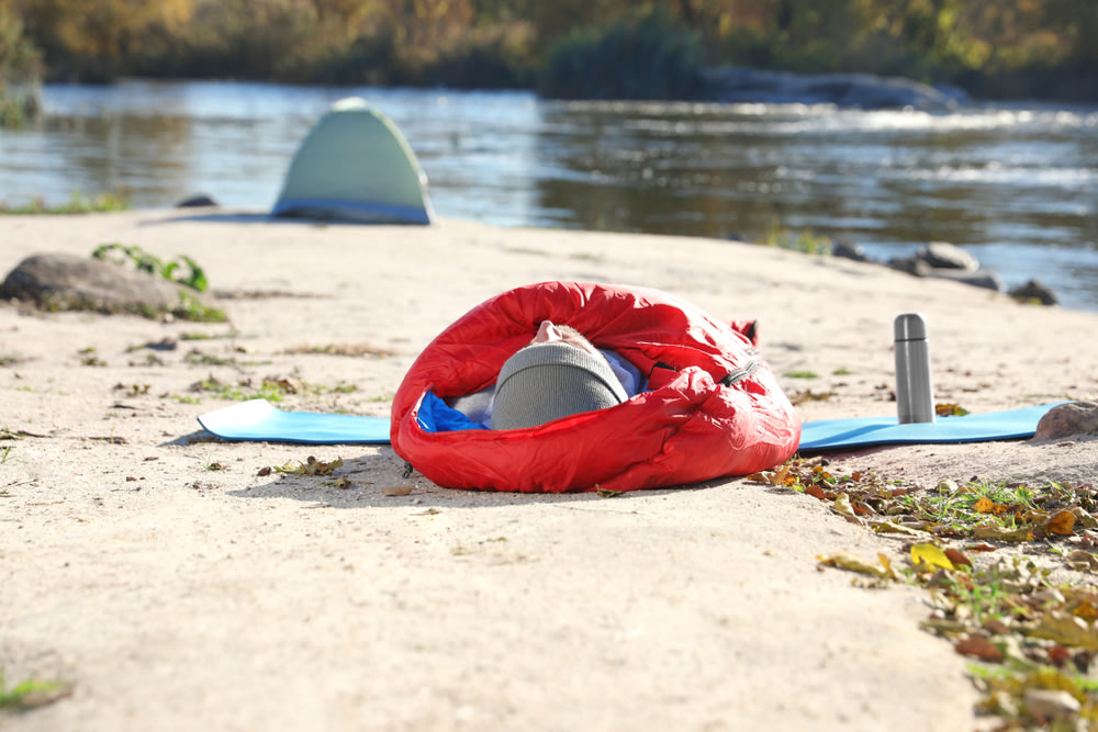 An image related to Best Summer Camping Sleeping Bags