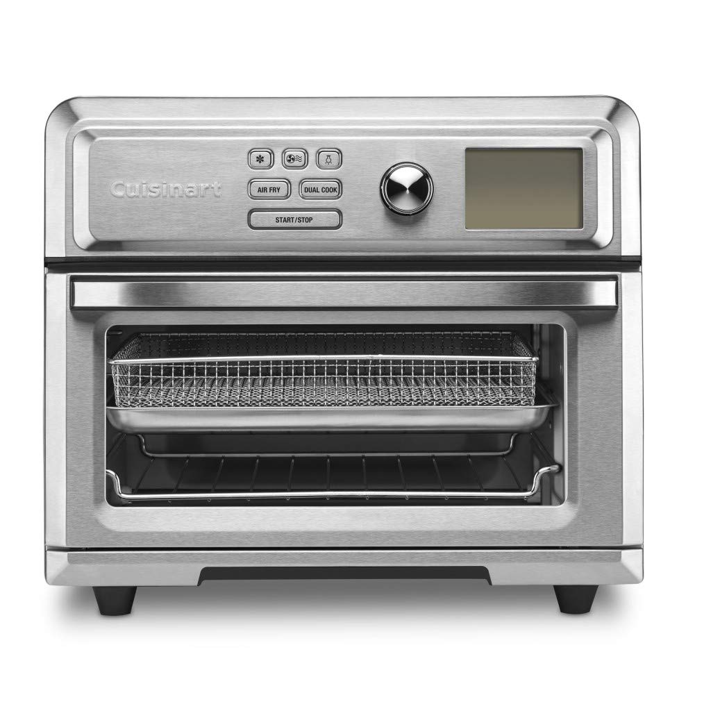 An image of Cuisinart TOA-65 Silver Air Fryer Large Toaster Oven