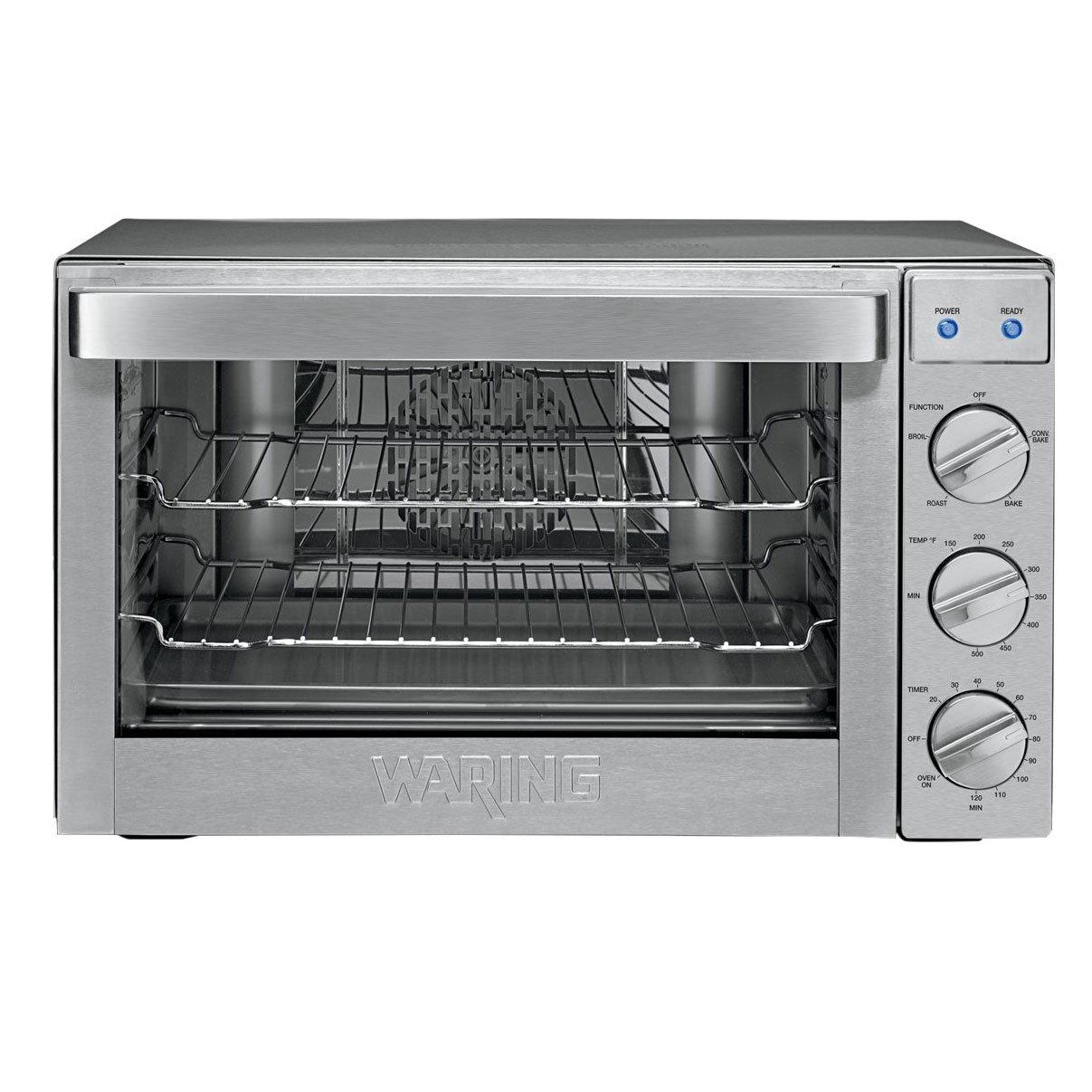 Waring Pro Co1600wr Stainless Steel Convection Countertop Large Toaster Oven Toasty Ovens